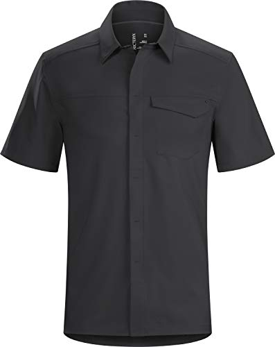 Arc'teryx Skyline SS Shirt Men's (Black, Large) (Products Skyline Outdoor)