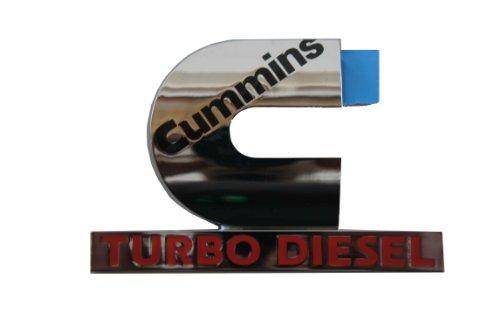 Genuine Chrysler Accessories 55077329AB Cummins Turbo Diesel Emblem