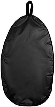 Baosity Universal Kayak Cockpit Cover Seal Protector for Outdoor/Indoor Transport/Storage - Black, XL