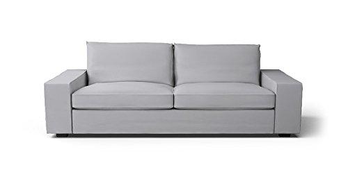 CUSTOM MADE SLIPCOVERS for Kivik Sofa Bed Light Grey
