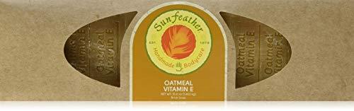 SunFeather Soap Loaf, Oatmeal Vitamin E, 51.6 Ounce
