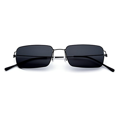 Sol Sol Hechas Mano A Mano Black Frame Titanium Los Aleación Color Gafas Los TLMY De Ultra Gafas De de Hechos De Los Hombres Lens Ligeros Vidrios A Frame Gray La Black Cuadrados De Vidrios De Gray Lens pqxtEX