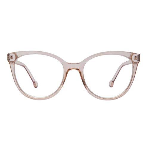Madison Avenue Blue Light Blocking Glasses Oversized Cat Eye Blue Light Glasses for Women,Spring Hinges Anti Blue Ray Eyesatr