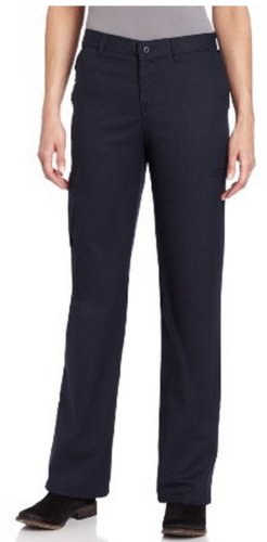 Dickies Women's Premium Relaxed Straight Cargo Pants,Dark Navy,10 Petite by Dickies