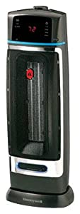 Honeywell Safety Sentinel Electronic Ceramic Tower Heater, HZ-385BP
