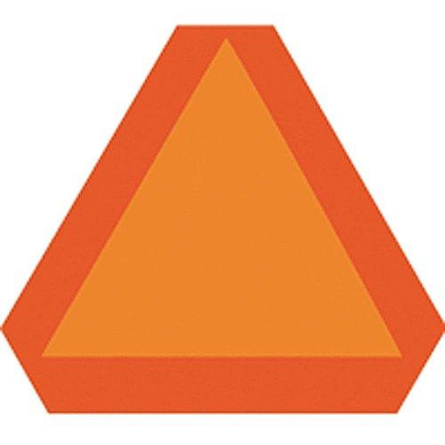 Highway Triangle (Hy-Ko TA-1 Aluminum Bright Orange Slow Moving Vehicle Emblem Triangle Highway Si)