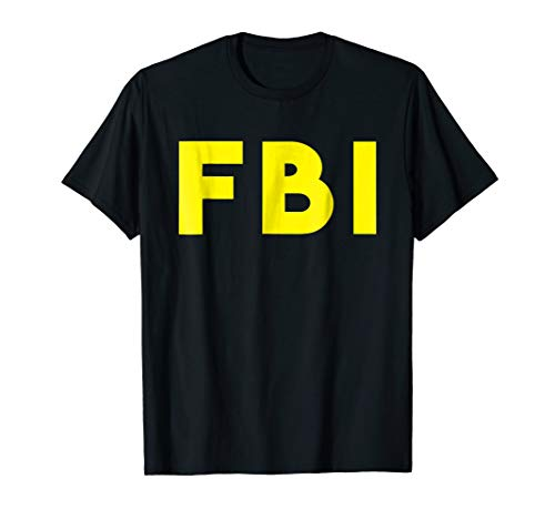 FBI Federal Agent Funny Halloween Costume -