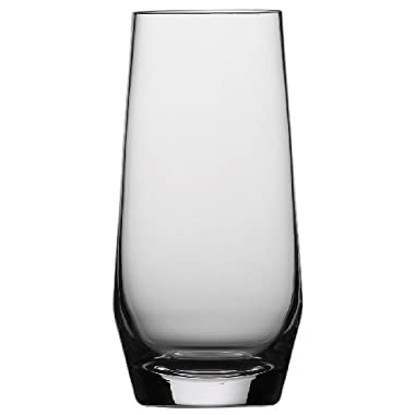 Schott Zwiesel Tritan Crystal Glass Barware Pure Collection Long Drink, 18.3-Ounce, Set of 6