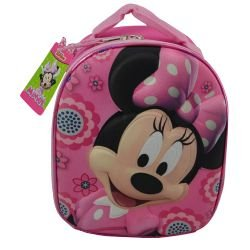 Minnie Dome Shaped Lunch Bag With Molded Front