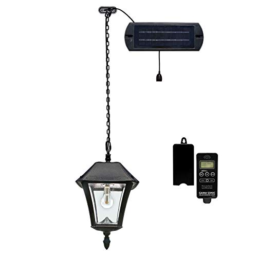 Gama Sonic Baytown Solar Lamp in US - 9