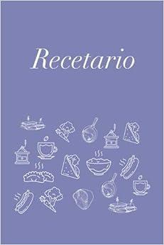 Recetario: Libreta a rayas pequeña, libro de recetas, recetario en blanco para escribir. Regalo original perfecto para mujer, hombre. Para cualquier ocasión: cumpleaños, navidad, amigo invisible…