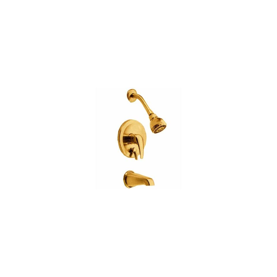 Danze 500013 BP Polished Brass Single Handle Tub & Shower Faucet