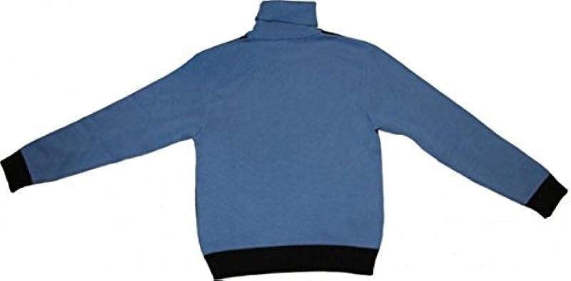 Freeman T Porter skatewear swetry sley Sky Blue/navy Sweater - s wielokolorowa: Odzież