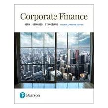 Corporate Finance, Fourth Canadian Edition (4th Edition)
