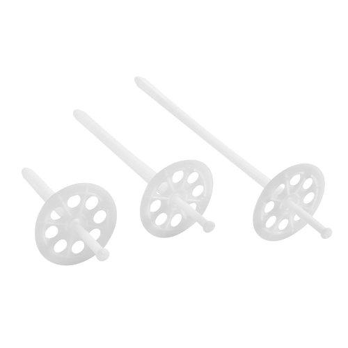 200 D/ämmstoffhalter 10 x 90mm WDVS VWS EPS D/ämmstoffd/übel D/übel Tellerd/übel