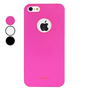 Metal Surface Frosted Design Hard Case for iPhone 5/5S (Assorted Colors) , Rose