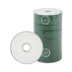 200 Spin-X 32x MINI CD-R Blank Media 22Min 193MB White Inkjet Hub by SpinX