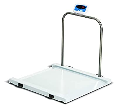 Brecknell Heavy Duty Large Wheelchair Medical Scale Drum Barrel Scale 1000 LB by 0.5 LB accuracy, NEW