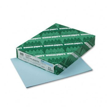 Wausau Paper™ Vellum Bristol Cover Stock PAPER,250,VELBRSTL,67#,BE (Pack of10) by Wausau
