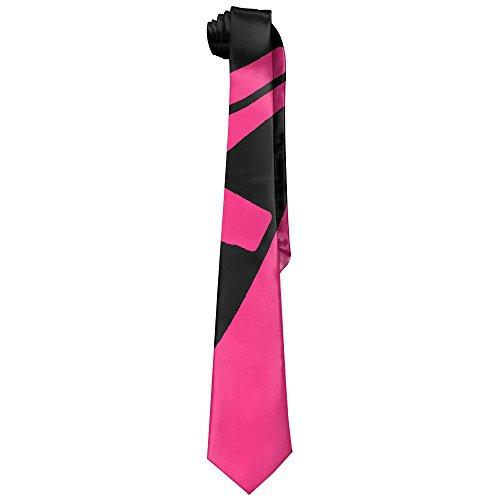 Jadetian Novelty Men's Wide Tie Long Necktie Red Ballet Shoes Printed Polyester Silk Tie from Jadetian