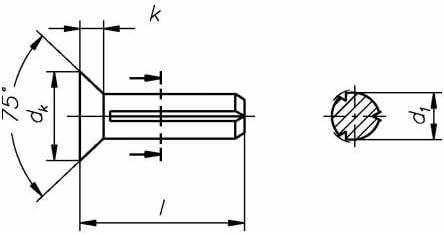 Reidl Senkkerbn/ägel 4 x 10 mm DIN 1477 Stahl blank 100 St/ück