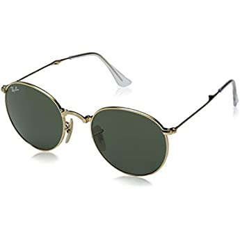 4fd7ed41d86d3 Ray-Ban METAL MAN SUNGLASS - GOLD Frame GREEN Lenses 50mm Non-Polarized