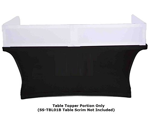 Scrim-King SS-TTP401BW 4ft Table Topper