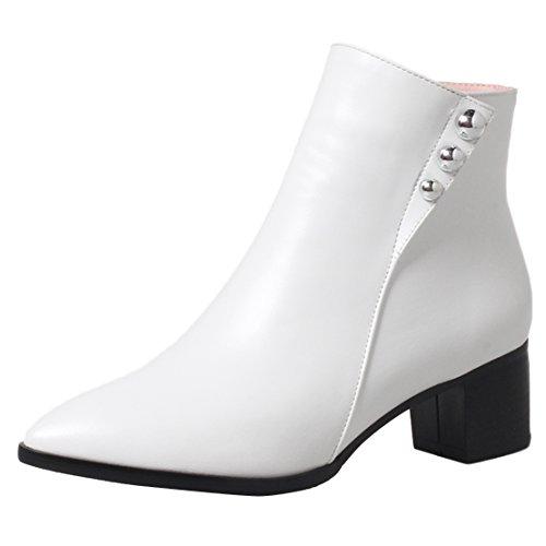 AIYOUMEI White Women's Women's AIYOUMEI Boot Classic aPZRaSrwq