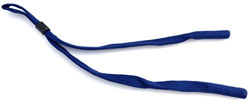 Gafas de alta calidad de banda algodón extra ancho con tope–Azul Oscuro