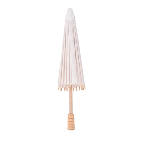 1 Pcs Paper Parasol Chinese/Japanese Paper Umbrella For Children, Decorative Use, and DIY Projects by Team-Management -