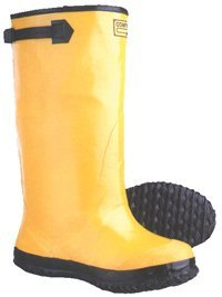 17 inch Over Shoe Style Yellow Slush Boots, size 6