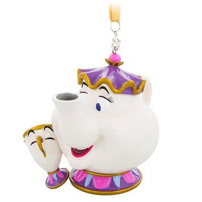 Disney Parks Mrs Potts and Chip Ornament