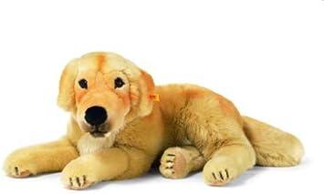 Steiff 79030 Golden Retriever Liegend 40 Cm Amazon De Spielzeug
