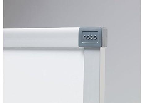 Nobo Classic - Pizarra magnética, acero vitrificado, 1200 x 900 mm