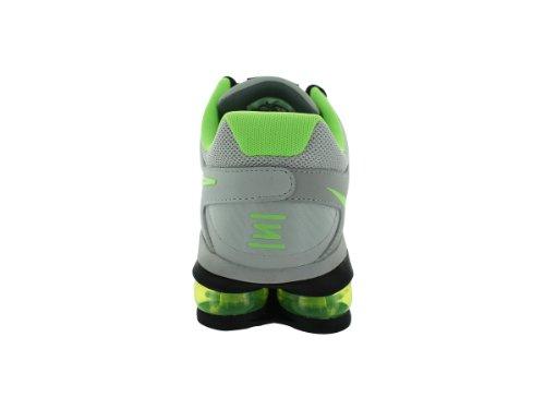 Nike Mens Air Shox 2013 Grigio Polveroso / Cl Grigio / Blk / Flsh Lm Scarpe Da Corsa 8 Uomini Us