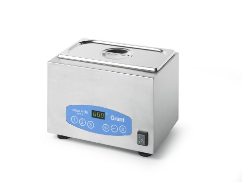 Grant Instruments - Grant Instruments SVE 5 US Expert Sous Vide Stainless Steel Water Bath, 5 L, 13.25