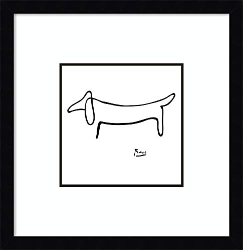 Amanti Art Le Chien (The Dog) by Pablo Picasso Framed, used for sale  Delivered anywhere in USA