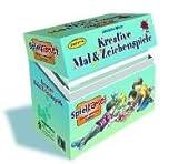 Kreative Mal- & Zeichenspiele: Spielkartei. Karteikarten-Box mit 216 Ktn