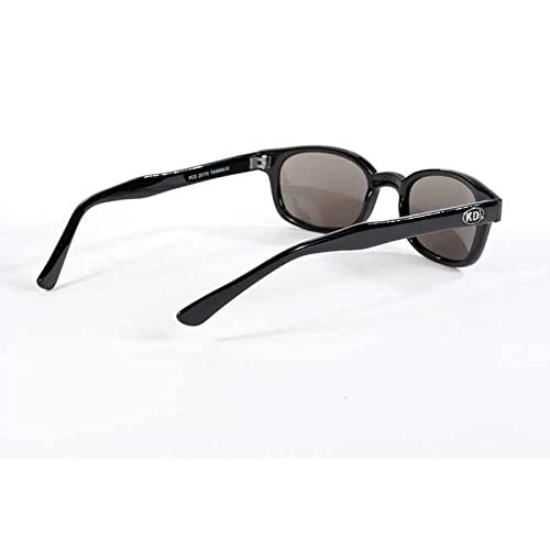 0397035350 X KD Sunglasses Silver Mirror Smoked Lens Sunglasses Large Size UV400 free  shipping