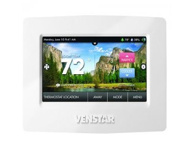 Venstar T8850 Commercial Thermostat with WiFi 4H 3C Dual fuel by Venstar (Best Dual Fuel Thermostat)