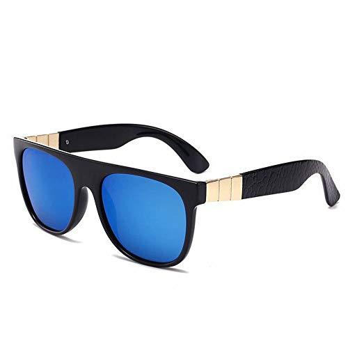 N glace M bleu Lunettes De Miroir Femme Box Lunettes De Rétro Conduisant C Cadre Soleil Super Black Polarisé Male Conducteur noir Soleil qB5Rd1w