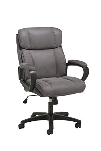 Essentials Executive Chair – Mid Back Office Computer Chair (ESS-3082-GRY)