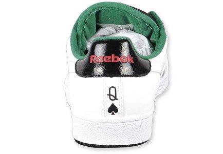 Reebok Npc Uk Royal Flush Drottningen Av Spadar Begränsad Upplaga / 2800 Sneakers Vit / Svart / Grön