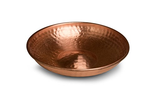 Monarch Abode 17065 Hanging Hammered Copper Bird Bath by Monarch Abode (Image #1)