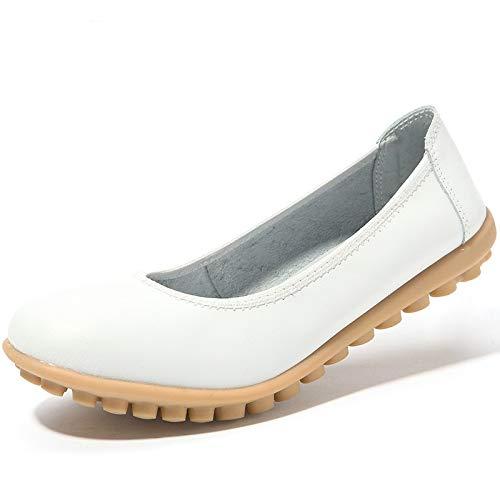 Blanc 39 EU coloré Chaussures Blanc ZHRUI Taille wqxXfY7n6