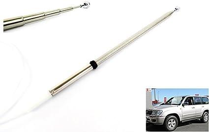 Antena eléctrica de alimentación aérea Mástil Radios OEM Reemplazo de cable de dientes para 1998-07 Land Cruiser Amazon 100 Series LX 470