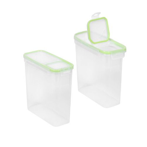Ware Cereal - Airtight Flip 15.3 Cup 9X4X9, 2 Pack