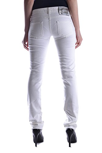 Jeans Cotone Cavalli Bianco Just Mcbi170007o Donna pq5CnRw