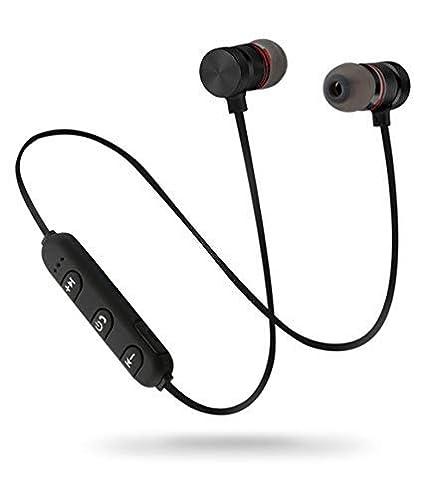 ecf6d9393ed wiles Wireless Sports Bluetooth Magnet Earphone: Amazon.in: Electronics