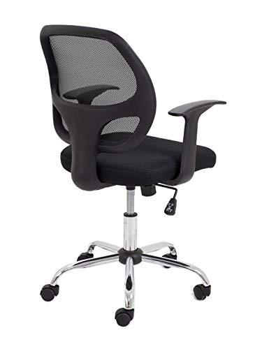 Koppla av kontoret ett nät bakstöd, dator skrivbordsstol, ergonomisk, verkställande stol-svart